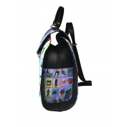 BACK PACK ARTESANAL LOTERIA LATERAL